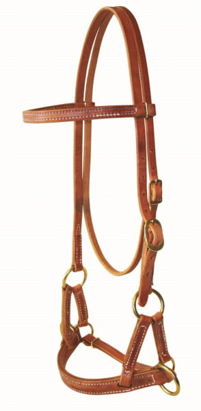 Ultimate Cowboy Gear Harness Leathernose Sidepull