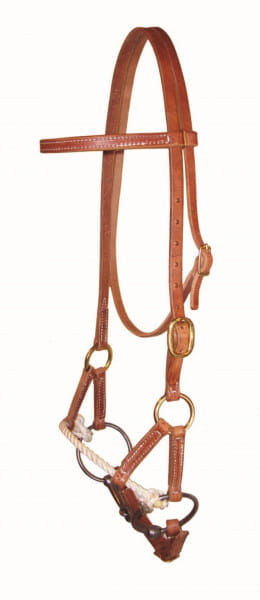 Ultimate Cowboy Gear Rope Sidepull mit Snaffle