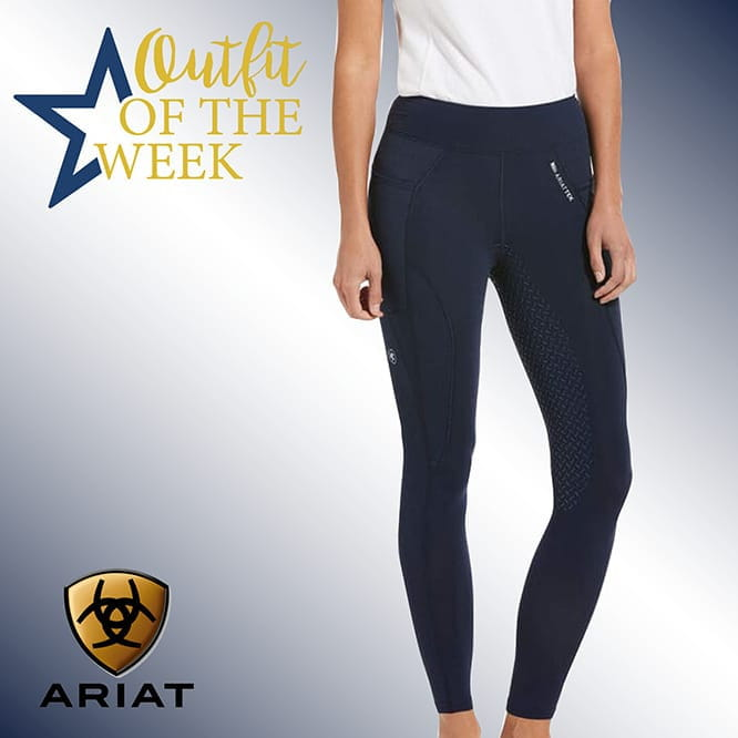 Ariat Previal Insulated Full Seat Tight navy