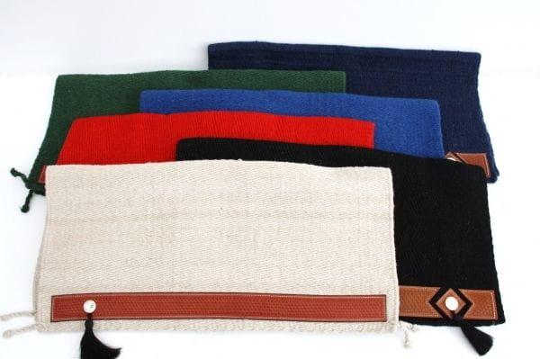 Show-Blanket GRAND mit Lederbesatz und Conchas