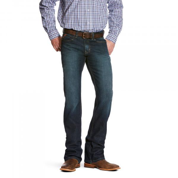 Ariat Mens M7 Rocker Straight Legacy Fremont Jeans
