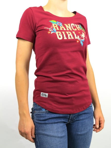 OSWSA Ranchgirl T-Shirt Luisa red