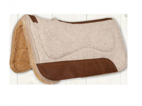 Mustang Poron Contoured Barrel Fleece Pad