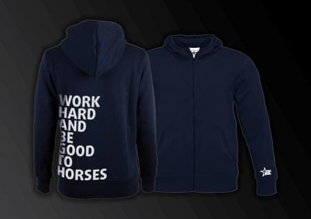 """""""Zoodie """"""""work hard and be good to horses"""""""
