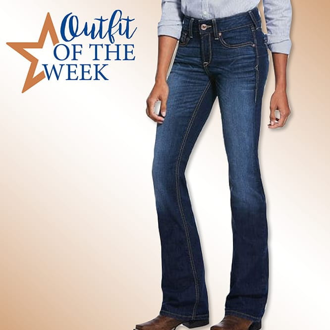 Ariat Real Riding Jeans Sydney Boot Cut