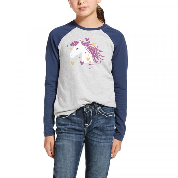 Ariat Youth My Love T-Shirt grey