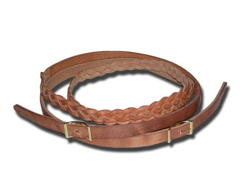 Braided at Hand Hold Roping Reins