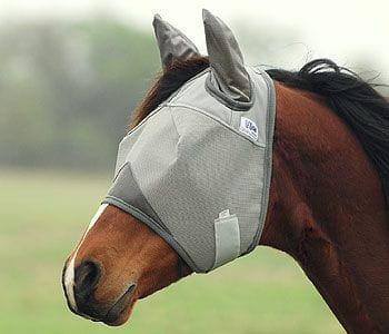 Crusader Fly Mask Cashel UV-Schutz Fliegenmaske mit Ohren