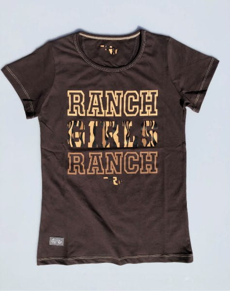 Ranchgirls Ranch Girl Ranch T-Shirt choco