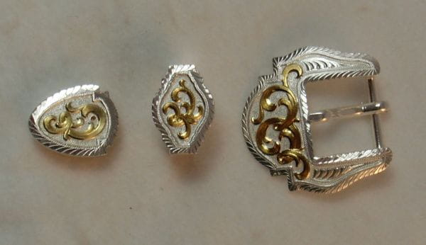Montana Silversmith Buckle-Set silver/gold