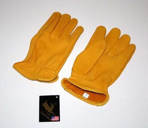Deerskin Yellowstone Gloves - Majestic