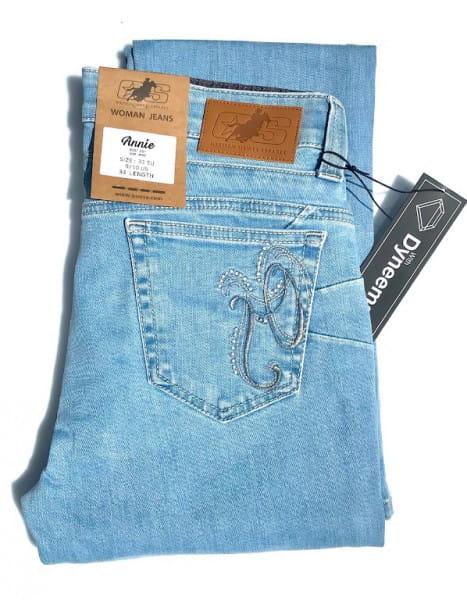 Ranchgirl Jeans Annie bright blue