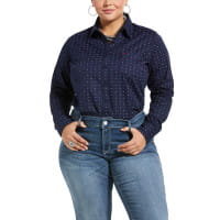 Ariat Womens Kirby Shirt navy eclipse