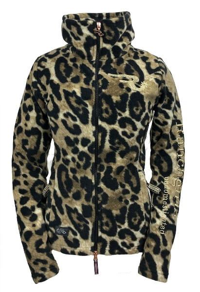 Ranchgirl Polarfleece Jacket Grace Leopard