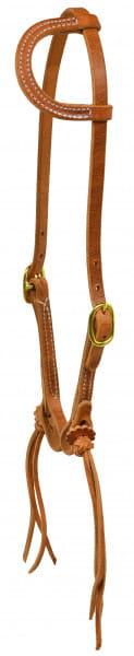 Ultimate Cowboy Gear Einohr Kopfstück Rattlesnake