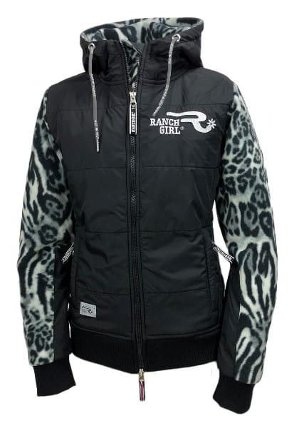 Ranchgirl ProShield Polarfleece Jaket Charlee Snow Leopard