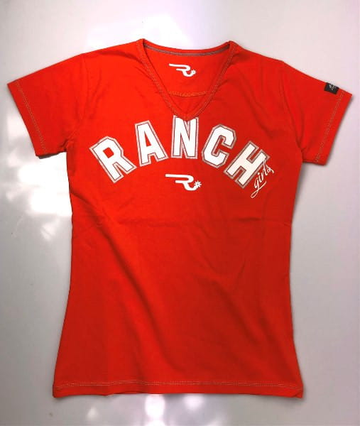 Ranchgirls T-Shirt Rihanna neon orange