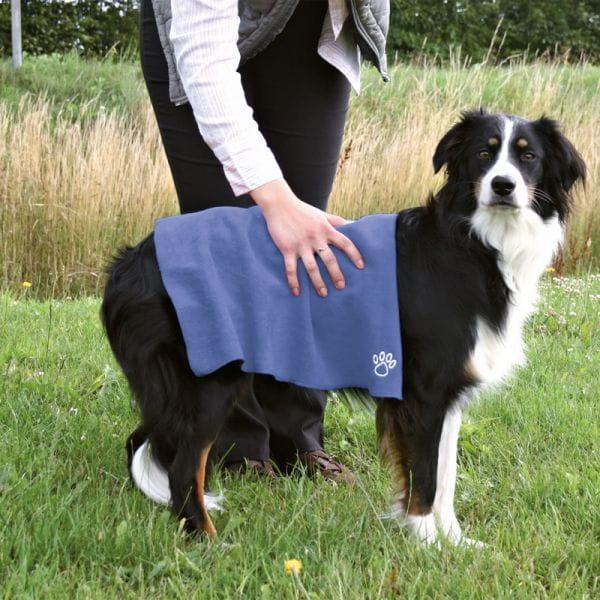 Hundehandtuch Mikrofaser