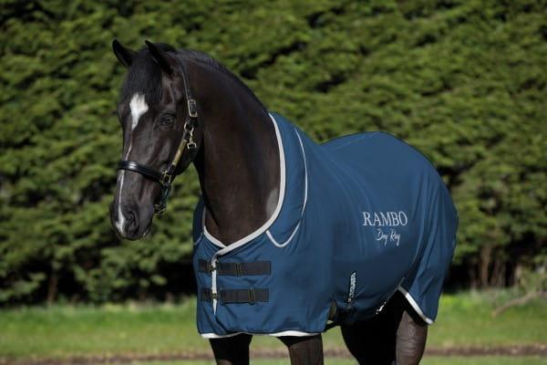 Horseware Rambo Dry Rug Surpreme navy