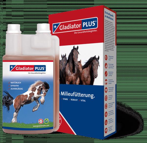 GladiatorPLUS Pferd - Die Milieufütterung. 1.000ml