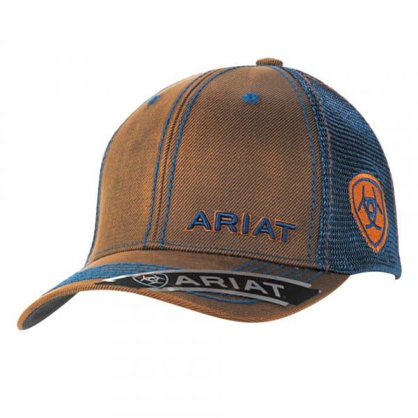 Ariat Unisex B Fit Cap brown/blue