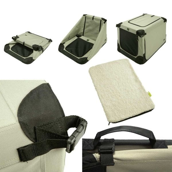 Maelson Soft Kennel faltbare Hundebox