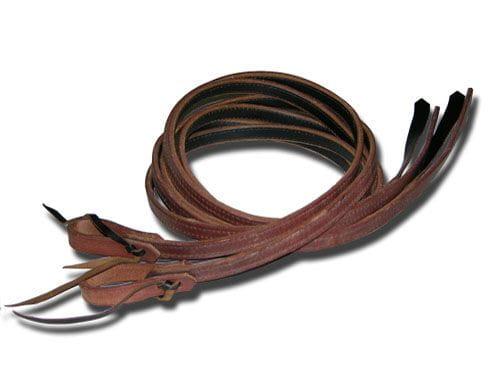 Buckaroo Famous Lined Harness Split Reins 5/8'