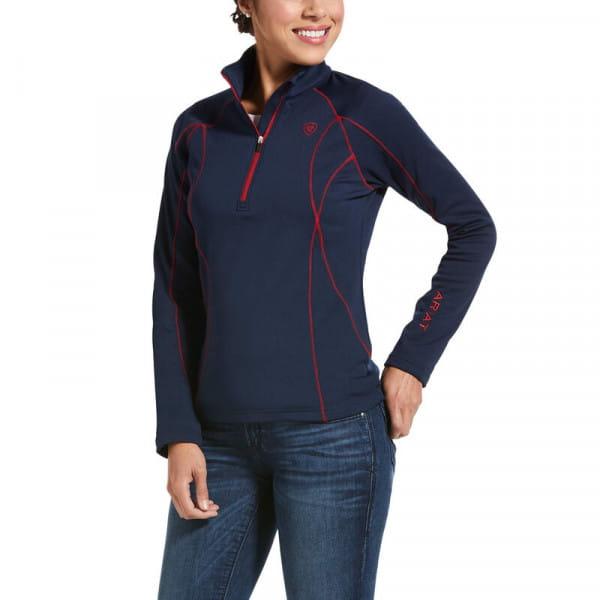 Ariat Womens Conquest 2.0 Shirt navy