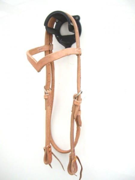 Harness Kopfstück - Hermann Oak Leather - V-Stirnband