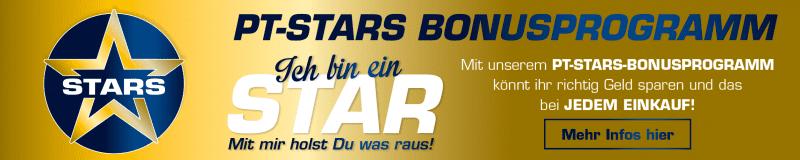 PT-STARS BONUSPROGRAMM