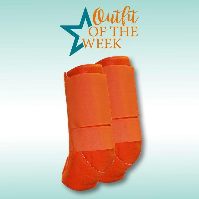 PT Front Boots orange