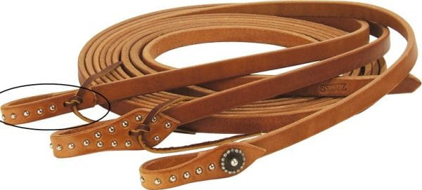 Schutz Brothers Spotted Waterloop Harness Reins