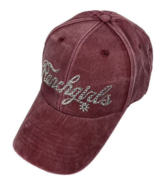 Ranchgirl Cap Berry Dyed Out