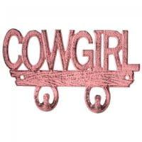Key Rack Kleiderhaken Cowgirl pink