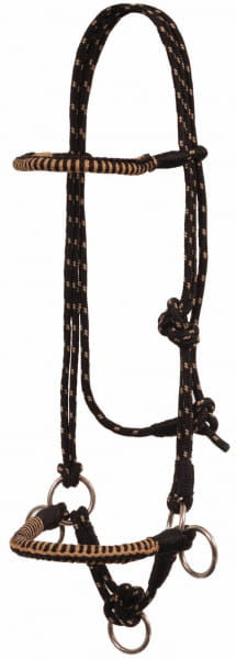 Mustang TowTone Diamond Side Pull Halter