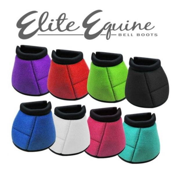 Elite Equine Bell Boot No Turn