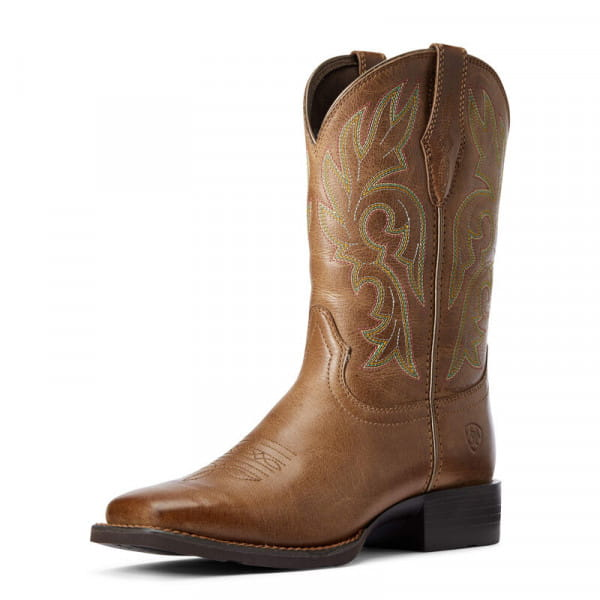 Ariat Womens Cattle Drive Boots Dusty Brown