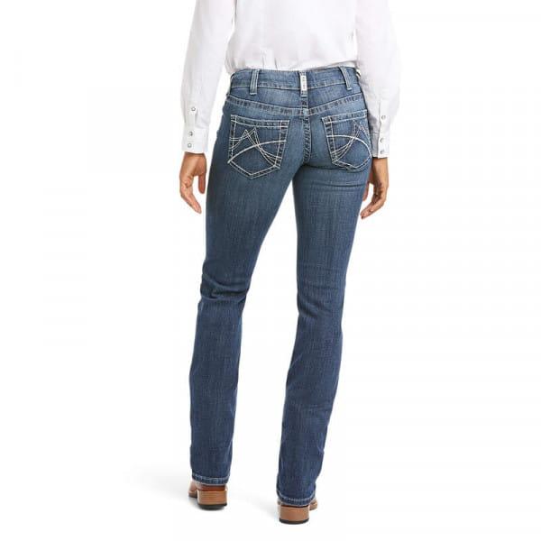 Ariat Womens Real MR Arrow Gianna Straight Jeans