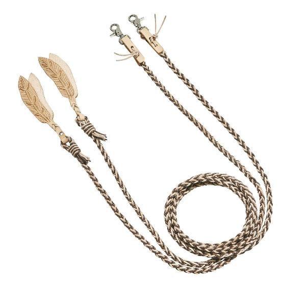 Split Reins Feather