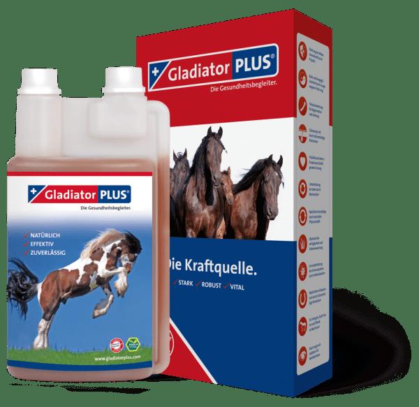 GladiatorPlus Pferd 1 Liter 40-Tage-Kur