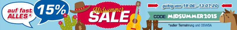 Midsummer Sale – Fast Alles reduziert bei Profi-Tack
