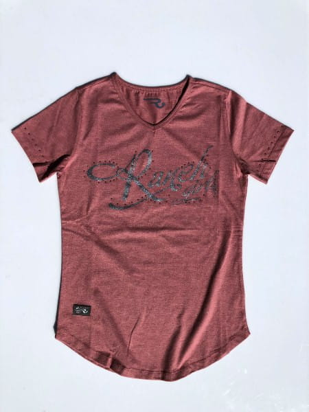 Ranchgirls T-Shirt Luisa nude melange