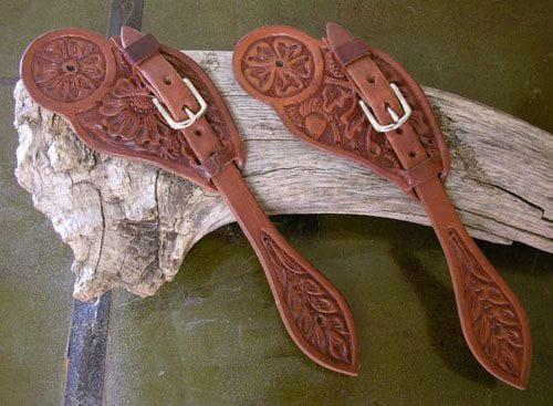 Buckaroo Cowboy Spur Strap Wild Rose