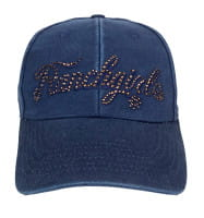 Ranchgirls Cap DYED OUT navy