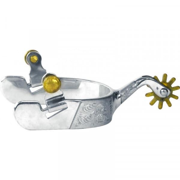 Sporen Engraved Steel Silver Gold