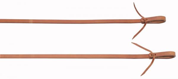 schwere Harness Split Reins 3/4 Länge 2,40 m