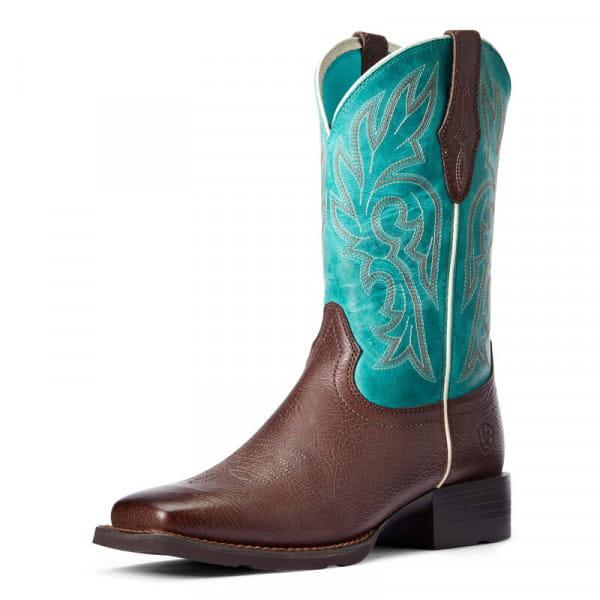 Ariat Womens Cattle Drive Boots dark Cattage