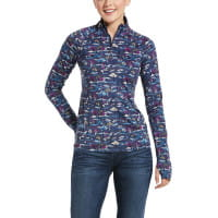 Ariat Shirt Womens Lowell 2.0 Blue Course