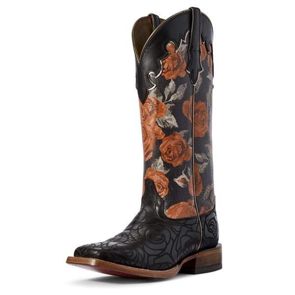 Ariat Womens Westernstiefel Fonda roses