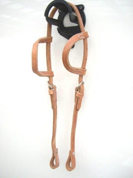 Harness Kopfstück - Hermann Oak Leather - Zweiohr